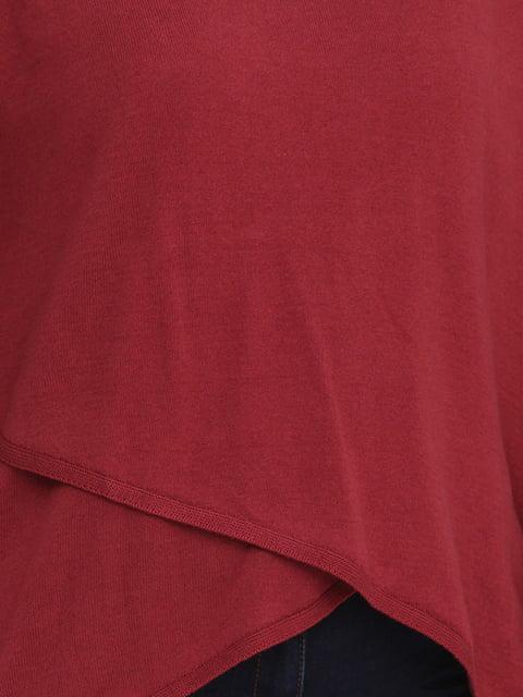 Джемпер ягодного цвета Street One 5173181
