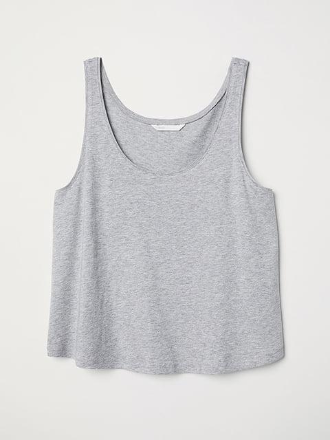 Топ серый H&M 5170361