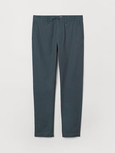 Брюки синие H&M 5170955