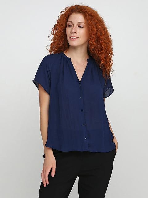 Блуза синяя H&M 5170983