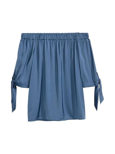 Топ синий H&M 5171122