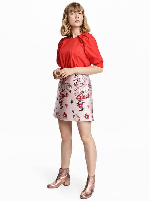 Юбка светло-розовая H&M 5171132