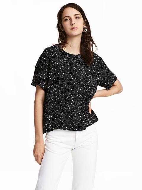 Блуза черная H&M 5171139