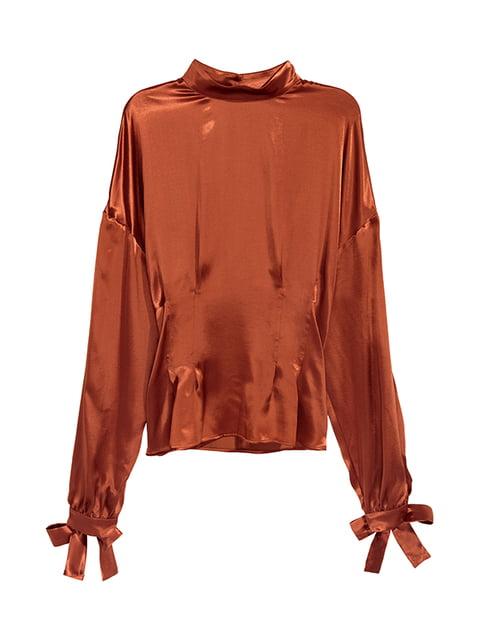 Блуза коричнева H&M 5171285