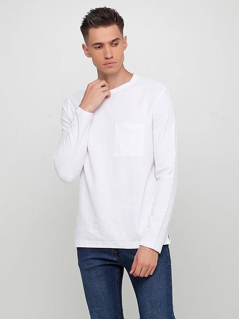 Лонгслив белый H&M 5171374