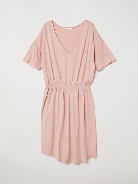 Платье светло-розовое H&M 5171515