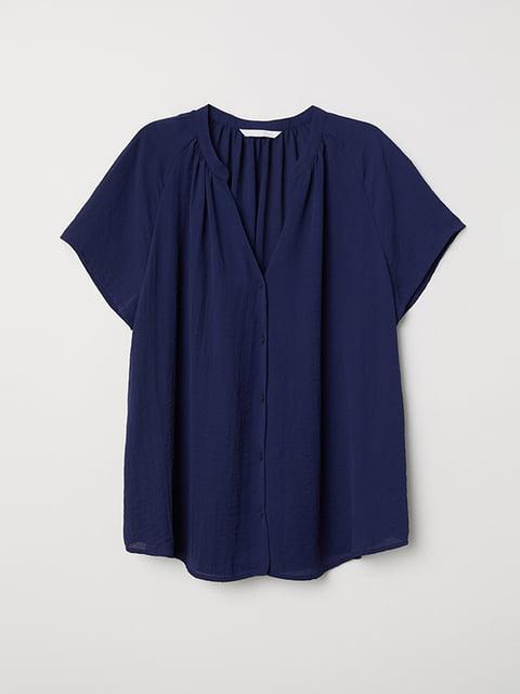 Блуза синяя H&M 5171527