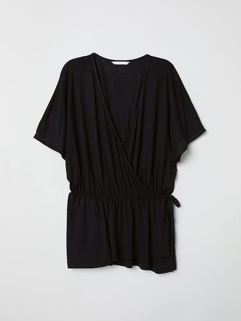 Блуза черная H&M 5171544