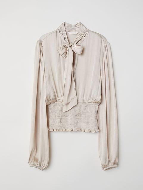 Блуза бежева H&M 5171564