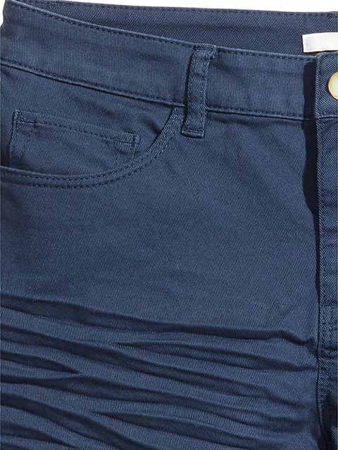 Шорты темно-синие H&M 5171699