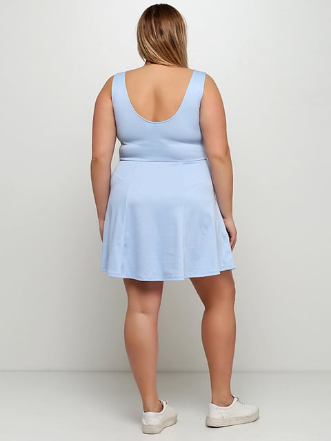 Платье голубое H&M 5171981