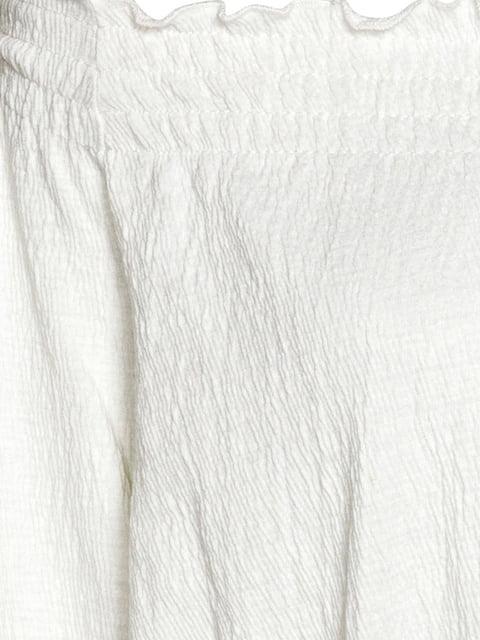 Топ молочного цвета H&M 5172033