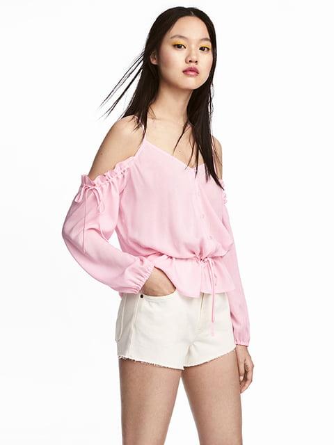 Блуза рожева H&M 5172121