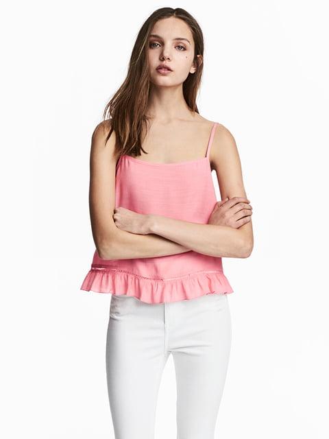 Топ розовый H&M 5172133