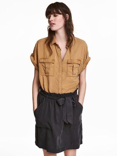 Рубашка горчичного цвета H&M 5172155