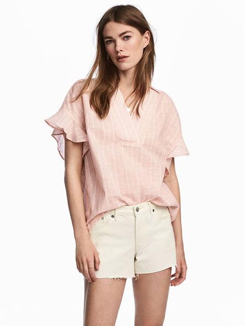 Блуза розовая H&M 5172159