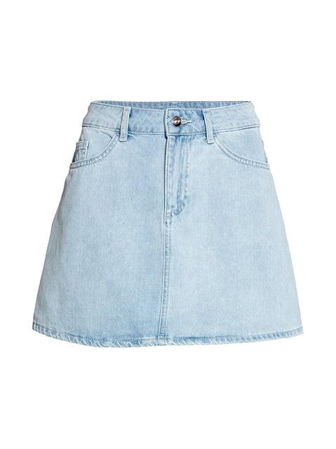 Юбка джинсовая светло-голубая H&M 5172232
