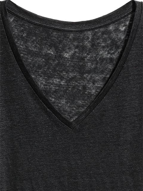Футболка черная H&M 5172307