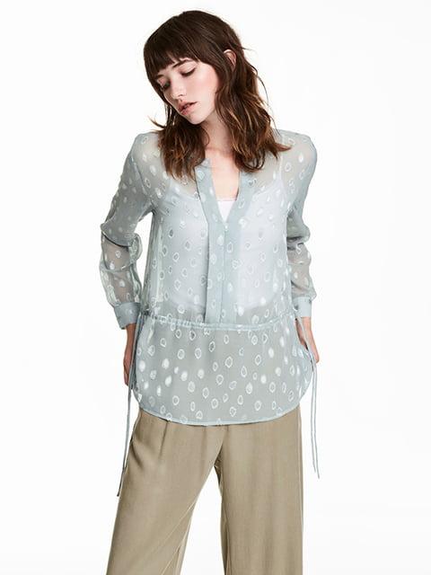 Блуза сіра H&M 5172393