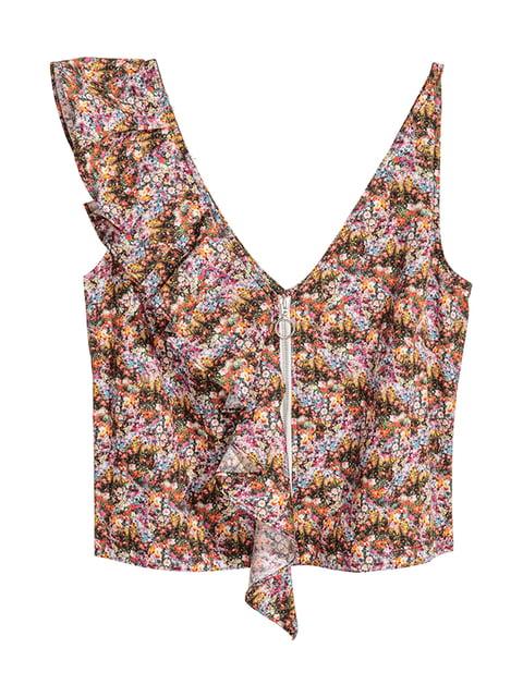 Топ комбинированной расцветки H&M 5172487