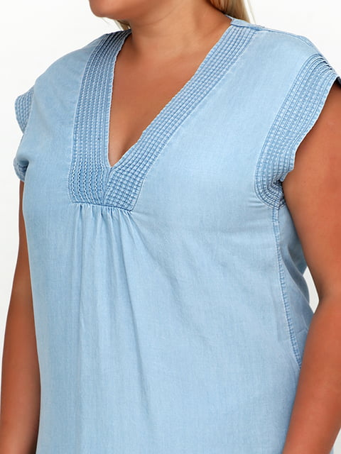 Платье голубое H&M 5172821