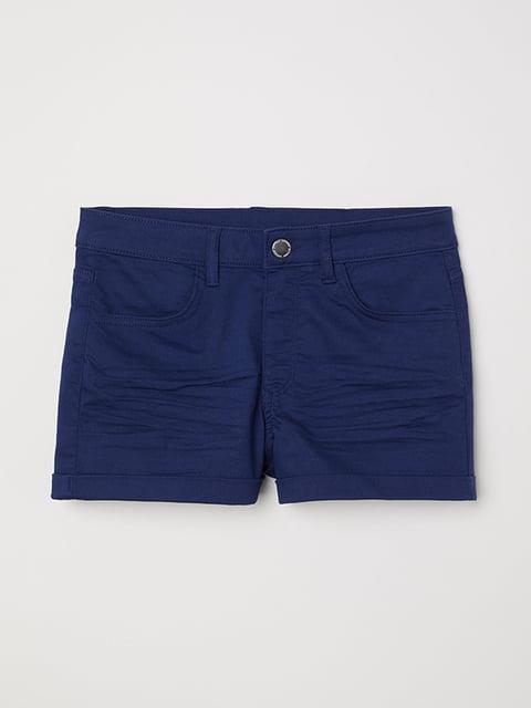 Шорты синие H&M 5173022