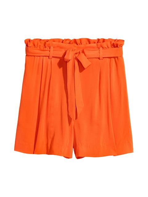 Шорты оранжевые H&M 5173093