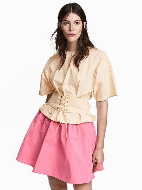 Юбка розовая H&M 5173128
