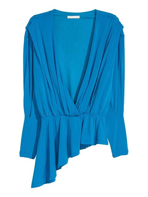 Блуза голубая H&M 5173151