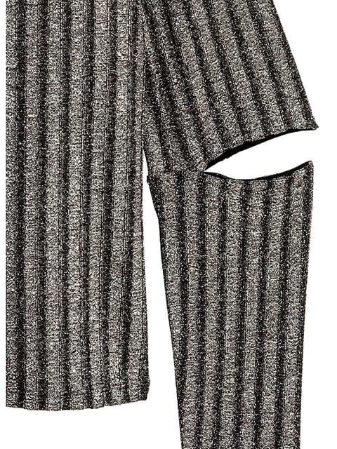 Джемпер темно-серебристый H&M 5173325