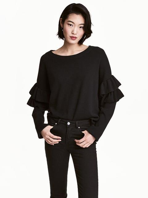 Джемпер черный H&M 5173337
