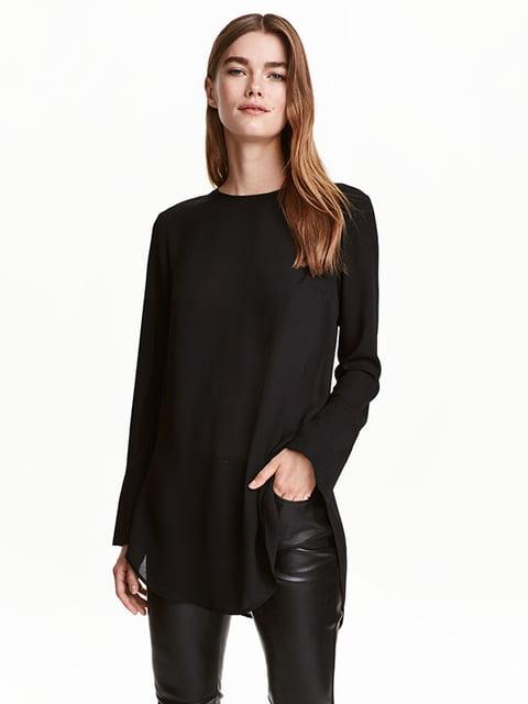 Блуза черная H&M 5170767
