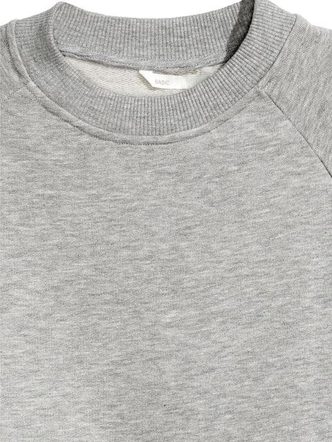 Джемпер серый H&M 5170862