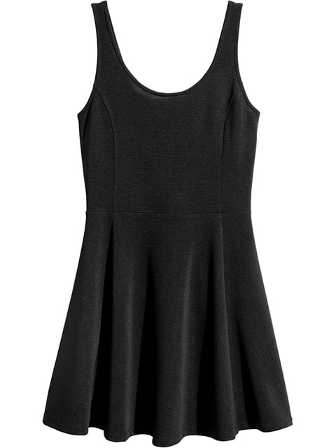 Платье черное H&M 5170878