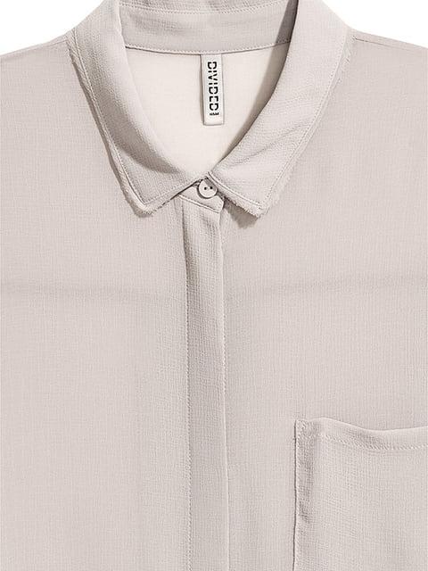 Рубашка серая H&M 5170978