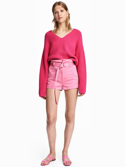 Шорты розовые H&M 5171228