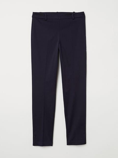 Брюки темно-синие H&M 5171306