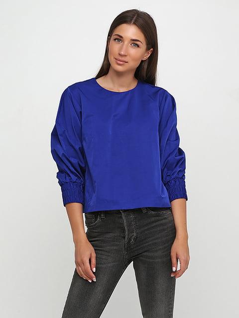 Блуза цвета электрик H&M 5171453