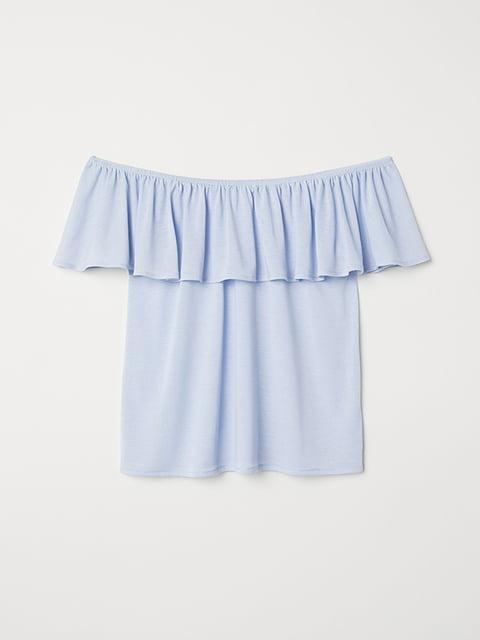 Топ голубой H&M 5171462