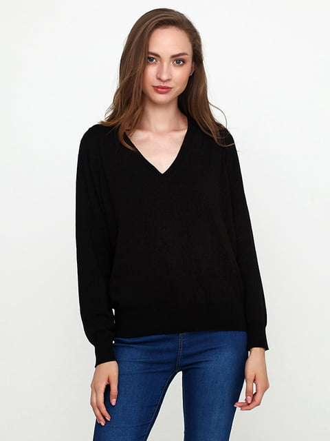 Пуловер черный H&M 5171605