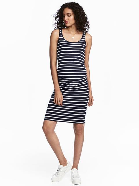 Платье темно-синее H&M 5171823