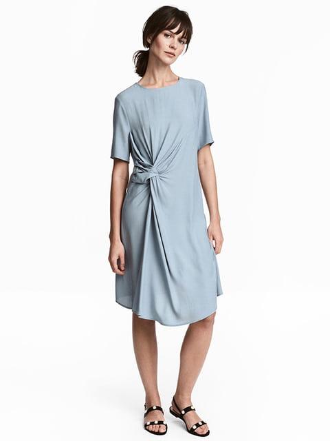 Платье голубое H&M 5172039