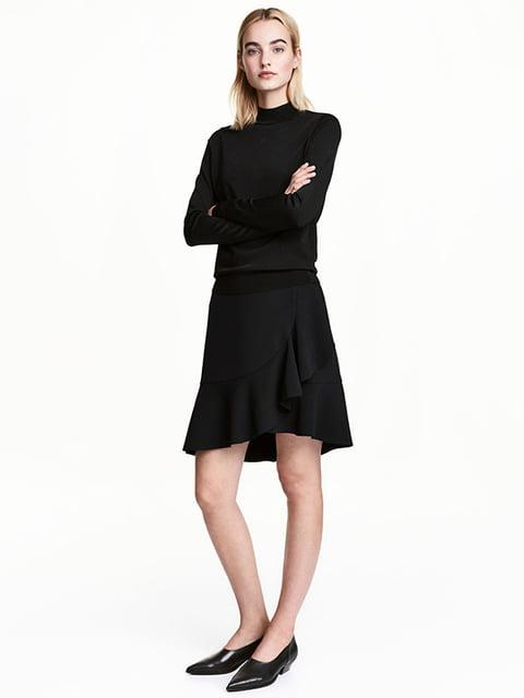 Юбка черная H&M 5172070