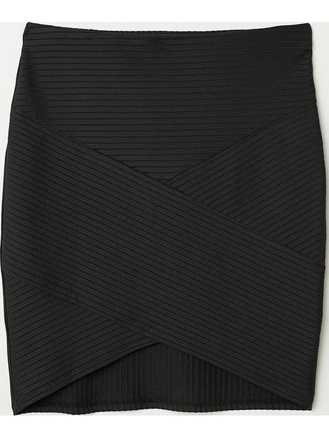 Юбка черная H&M 5172205