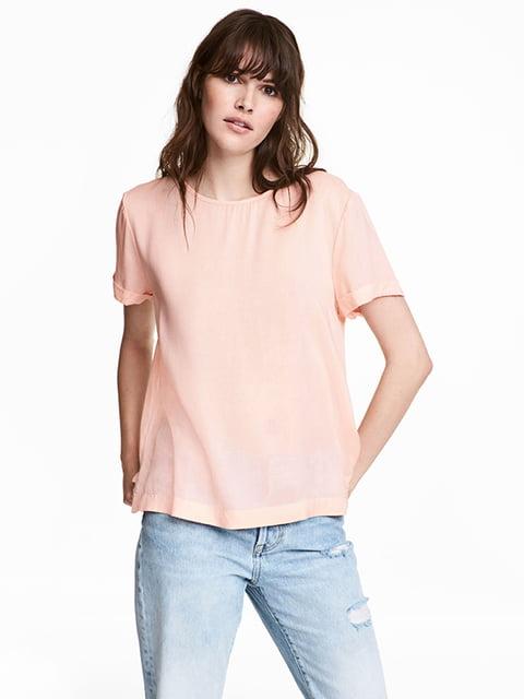Блуза кольору пудри H&M 5172227