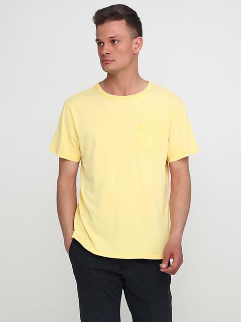 Футболка желтая H&M 5172228