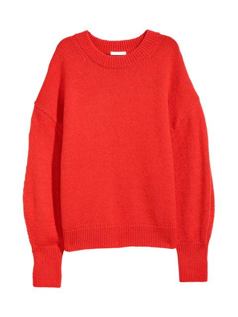 Джемпер червоний H&M 5172367