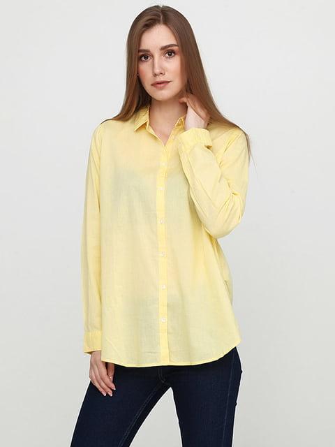 Рубашка желтая H&M 5172493