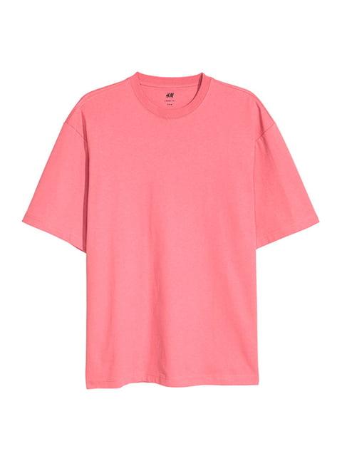 Футболка розовая H&M 5172543
