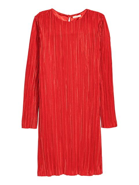 Платье ярко-красное H&M 5172561